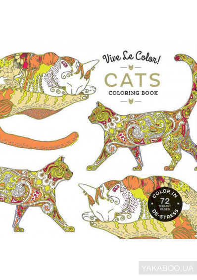 Фото - Vive Le Color! Cats (Adult Coloring Book)