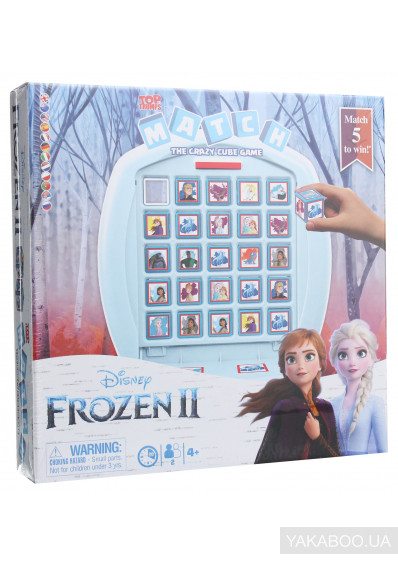 Фото - Настільна гра  Winning Moves Top Trumps Match Frozen 2 (5036905036597)