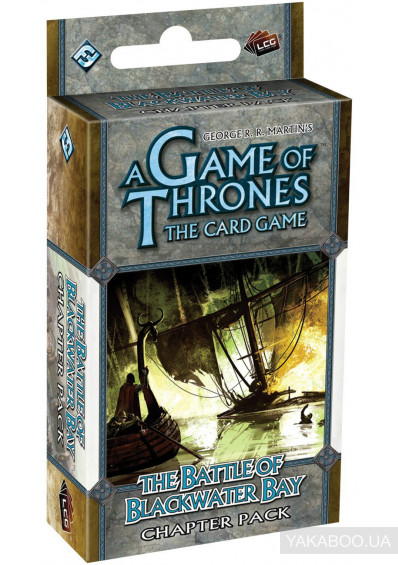 Фото - Дополнение к расширению A Game of Thrones LCG: The Battle of Blackwater Bay Chapter Pack (13393)