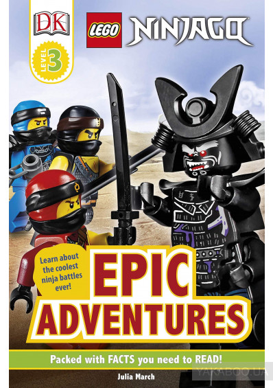 Фото - LEGO NINJAGO Epic Adventures