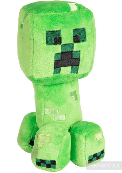 Фото - М'яка іграшка JINX Minecraft Happy Explorer Creeper Plush (JINX-7832)