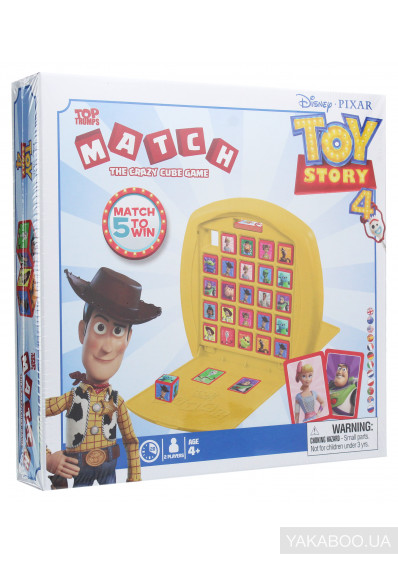 Фото - Настільна гра Winning Moves Top Trumps Match Toy Story 4 (5036905033428)