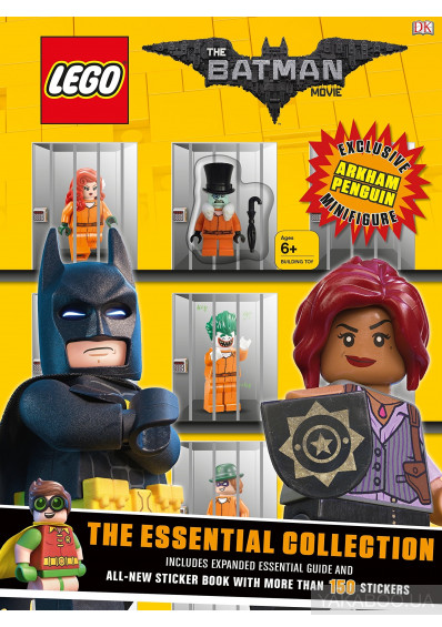 Фото - The LEGO® BATMAN MOVIE The Essential Collection: Includes 2 books, 150 stickers and exclusive Minifigure