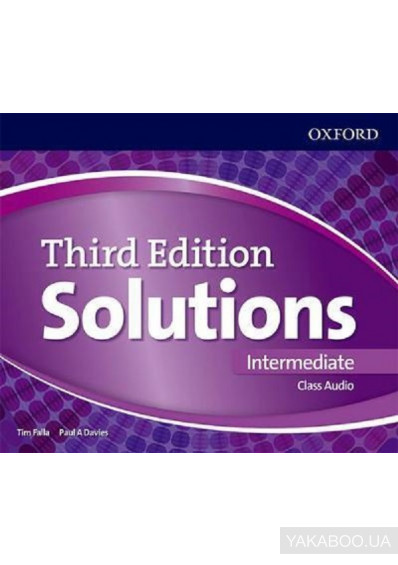 Фото - Solutions. Intermediate. Class Audio CDs