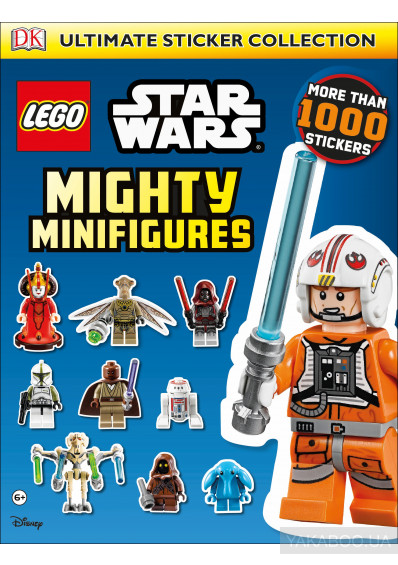 Фото - Lego Star Wars Mighty Minifigures Ultimate Sticker Collection
