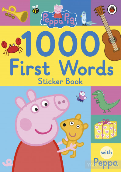 Фото - Peppa Pig. 1000 First Words Sticker Book