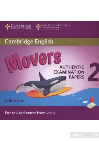 Фото - Cambridge English Young Learners 2 for Revised Exam from 2018 Movers Audio CDs: Authentic Examination Papers