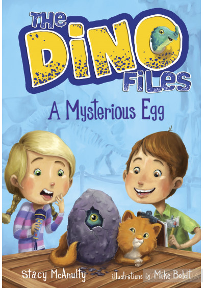 Фото - The Dino Files Book1: A Mysterious Egg
