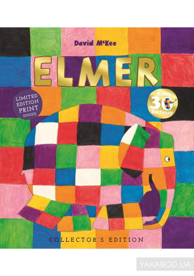 Фото - Elmer. 30th Anniversary Collector's Edition with Limited Edition Print