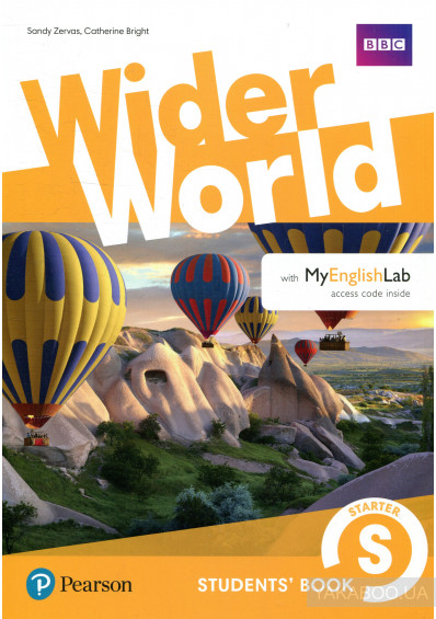 Фото - Wider World Starter Students' Book with MyEnglishLab Pack