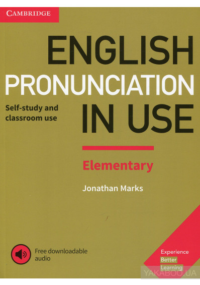 Фото - English Pronunciation in Use Elementary Book with Answers and Downloadable Audio