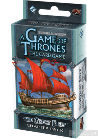 Фото - Расширение из цикла FFG A Game of Thrones LCG: The Great Fleet Chapter Pack (13395)