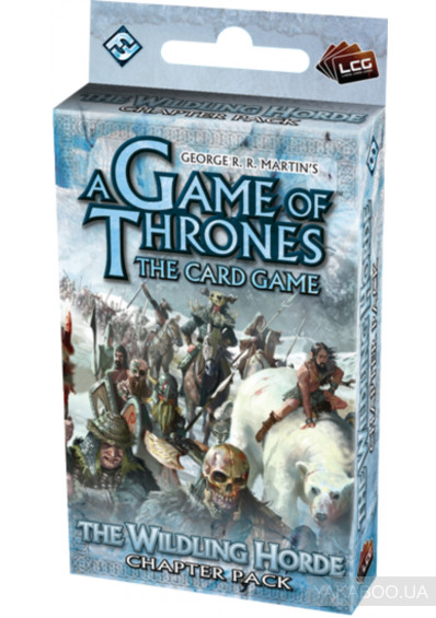 Фото - Дополнение к игре Fantasy Flight Games A Game of Thrones LCG: The Wilding Horde Chapter Pack (13401)