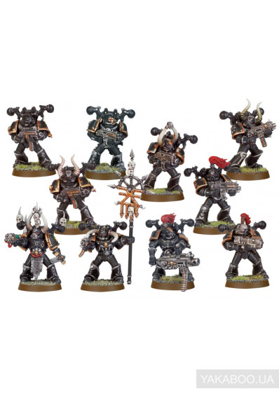 Фото - Набор фигурок Games Workshop CHAOS SPACE MARINE SQUAD (99120102055)