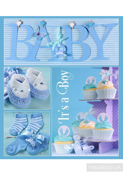 Фото - Фотоальбом EVG Baby collage Blue (20sheet Baby collage Blue w/box)