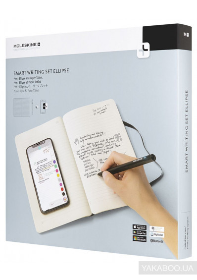 Фото - Набор Moleskine Smart Writing Set Ellipse (SWSA)