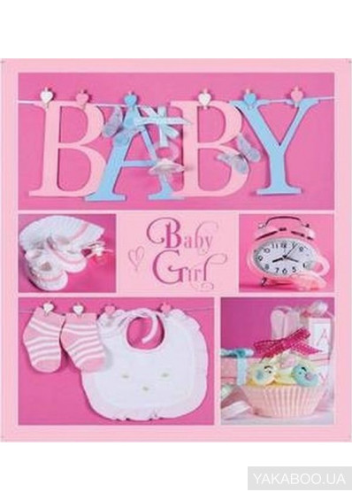 Фото - Фотоальбом EVG Baby collage Pink 10x15x56 (6239796)