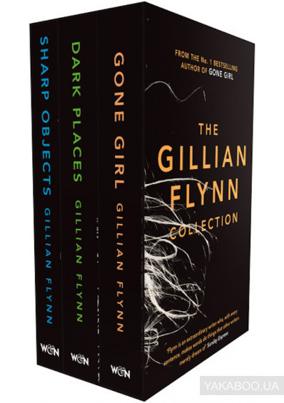 Фото - The Gillian Flynn Collection. Sharp Objects, Dark Places, Gone Girl