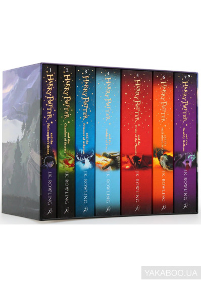 Фото - Harry Potter Boxed Set. The Complete Collection (комплект из 7 книг)