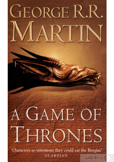 Книга «A Song of Ice and Fire. Book 1. A Game of Thrones», автора Джордж Р. Р. Мартин – фото №1