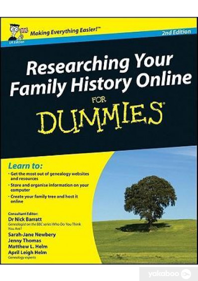 Фото - Researching Your Family History Online For Dummies