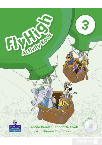 Фото - Fly High. Level 3. Activity Book (+ CD)