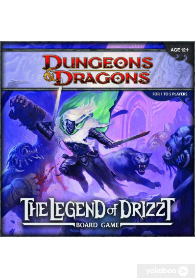 Фото - Настольная игра Wizards of the Coast Dungeons and Dragons Board Legend of Drizzt (621386)