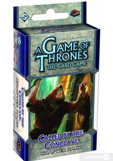 Фото - Дополнение к расширению Secrets of Oldtown Еxpansion к игре A Game of Thrones The Card Game Called by the Conclave Chapter Pack (13300)