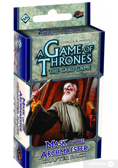 Фото - Дополнение к расширению Secrets of Oldtown Еxpansion к игре A Game of Thrones The Card Game Mask of the Archmaester Chapter Pack (13302)