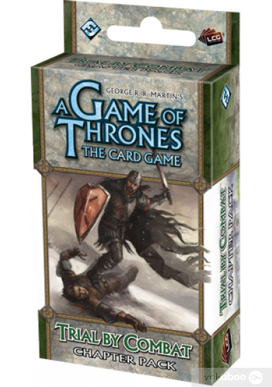 Дополнение к расширению A Tale of Champions к игре A Game of Thrones The Card Game Trial by Combat Chapter Pack (13308)