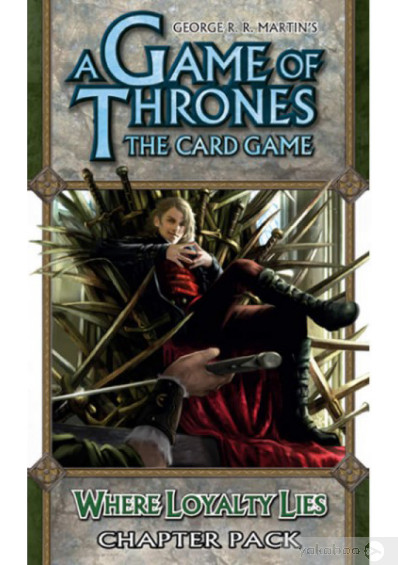 Дополнение к расширению A Tale of Champions к игре A Game of Thrones The Card Game Where Loyalty Lies Chapter (13307)