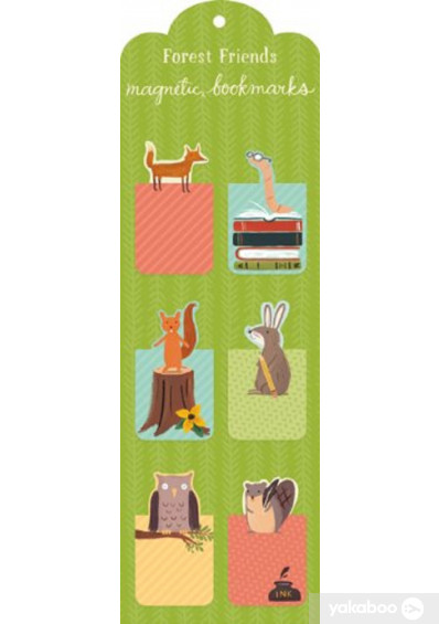 Фото - Forest Friends Magnetic Bookmark