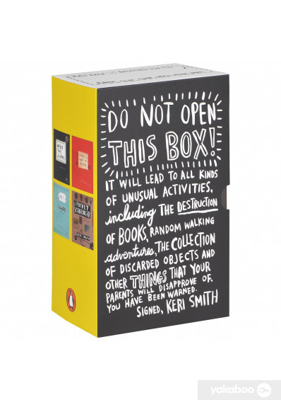 Фото - Do Not Open This Box! Wreck This Journal, This Is Not A Book, Mess, Pocket Scavenger (комплект из 4 книг)