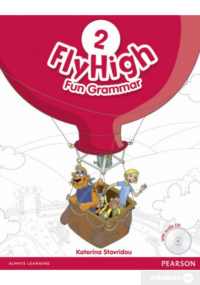 Фото - Fly High Level 2. Fun Grammar Pupils Book and CD Pack