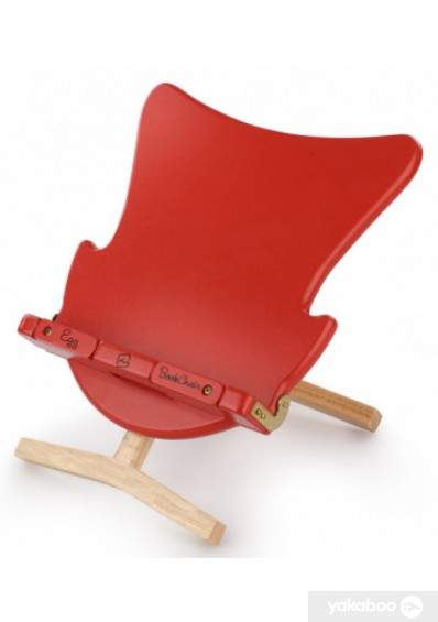 Фото - Тримач для книг Thinking Gifts Egg Bookchair Red (5060213012394)