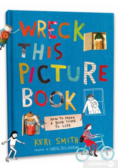 Фото - Wreck This Picture Book
