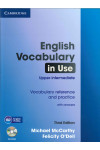 English Vocabulary in Use: Upper-intermediate: With Answers (+ CD-ROM)