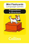 Prepositions & Directions (Mini Flashcards Language Games)