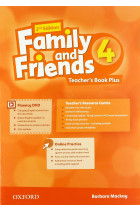 Купить - Книги - Family and Friends 4 Second Edition Teacher's Book Plus