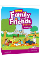 Купить - Книги - Family and Friends Starter Second Edition Class Book
