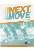 Купити - Книжки - Next Move 3 Workbook (+CD-ROM)