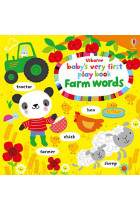 Купить - Книги - Baby's Very First Play Book Farm Words