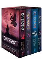 Купити - Книжки - Divergent Series Boxed Set (Books 1-4)