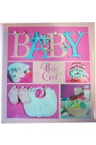 Купить - Блокноты - Фотоальбом EVG 10x15x56 Baby collage Pink (BKM4656 Baby collage Pink UA)