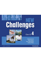 Купить - Книги - New Challenges 4 Class Audio CDs