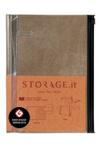 Купити - Блокноти - Блокнот Storage.it Denim L Беж (STI-NB50-C)