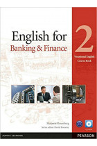 Купить - Книги - English for Banking and Finance 2 SB+CD