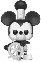 Купити - Подарунки - Колекційна фігурка Funko Pop! Pop Animation Mickey's 90th Anniversary Steamboat Willie (FK32182)