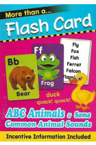 Купити - Книжки - More Than Flash Cards ABC Animals and Some Common Animal Sounds