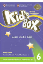 Купить - Книги - Kid's Box Level 6 Class Audio CDs (4) British English